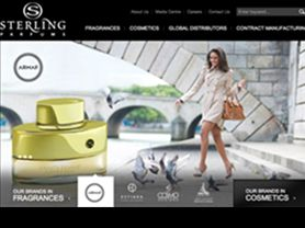 Sterling Parfums launches new website