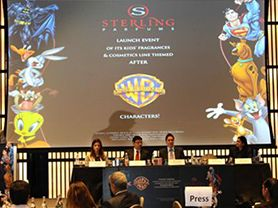 Warner Bros. Consumer Products Inc. Partners with Sterling Parfums to Offer Character Themed Products to the MEA Region
