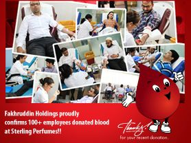 Fakhruddin Holdings organizes blood donation campaign across the group.